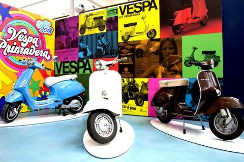 Το μουσείο της Piaggio επεκτείνεται πέρα από τη Vespa