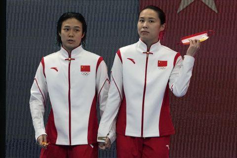 Η ομάδα της Κίνας κατέκτησε το χρυσό μετάλλιο στη συγχρονισμένη κατάδυση 3μ.   25 Ιουλίου 2021
