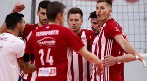 Volley League ανδρών: Έκαναν το 2/2 Ολυμπιακός και Ηρακλής, νίκη για ΠΑΟΚ
