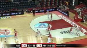 Eurobasket U20: Ανέτρεψε διαφορά 7 πόντων σε 38 δευτερόλεπτα η Λιθουανία!