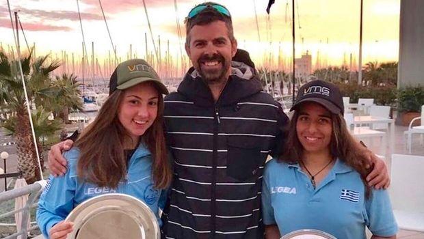 Ιστιοπλοΐα: Χρυσές Παππά-Τσαμοπούλου στους διεθνείς αγώνες 420 Carnival Regatta