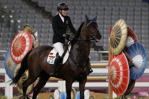 Η Ανίκα Σλέου και το άλογο της στους Ολυμπιακούς αγώνες του Τόκιο | 7 Αυγούστου 2021