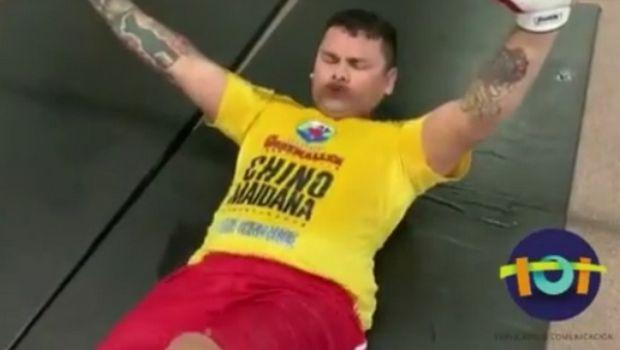 Μπήκε στις προπονήσεις ο Maidana για να χάσει τα περιττά κιλά!