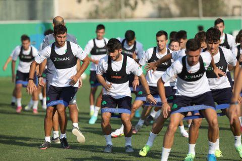 """Προπόνηση του Παναθηναϊκού Β' στο """"Γ. Καλαφάτης"""" για τη σεζόν 2021-22"""