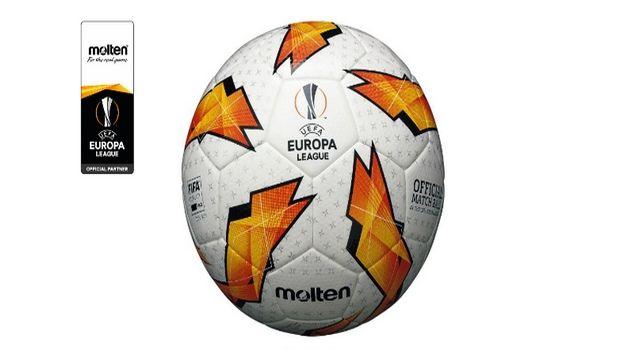 Η Molten επίσημος προμηθευτής της μπάλας για το UEFA Europa League
