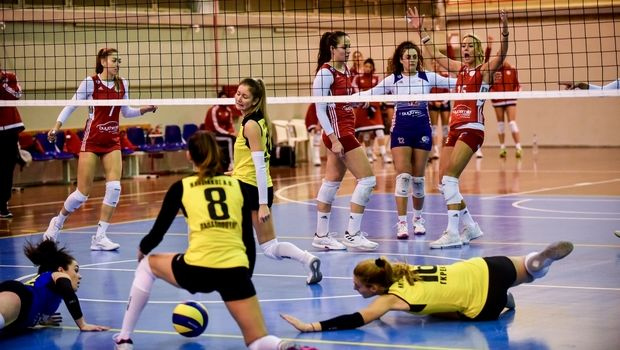 Volleyleague γυναικών: Πήρε φόρα ο Ολυμπιακός