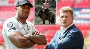 Εθνικός ξεσηκωμός στην Ρωσία για το Joshua vs Povetkin