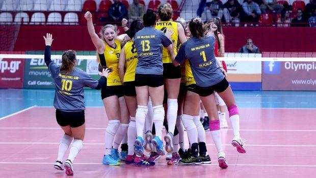 Volleyleague γυναικών: Ο Άρης άλωσε την έδρα του Ολυμπιακού
