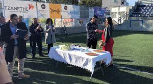 Παίκτης του Πανθηραϊκού παντρεύτηκε την αγαπημένη του μέσα στο γήπεδο