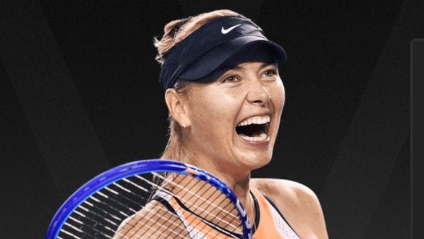 Επέστρεψε με νίκη στο Australian Open η Σαράποβα