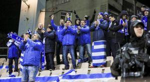 Εθνική Ελλάδας: Οι πανηγυρισμοί μέσα από την γαλανόλευκη κερκίδα