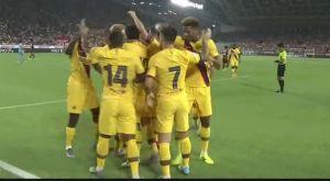 Μπαρτσελόνα: Νίκησε 2-0 την Βίσελ Κόμπε του Ινιέστα