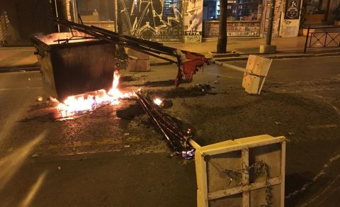 Συγκρούσεις σε Πατησίων και Κάνιγγος μεταξύ οπαδών - αστυνομικών!