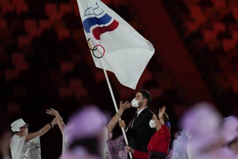 Η είσοδος της Ρωσίας στην Τελετή Έναρξης των Ολυμπιακών Αγώνων