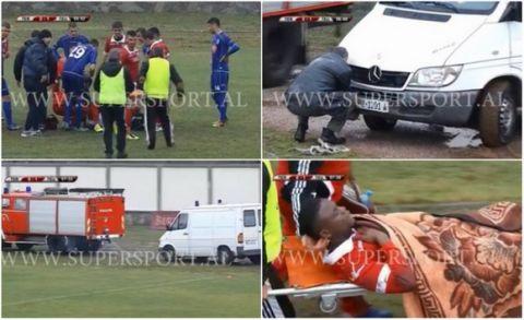 Φοβερό σκηνικό στην Αλβανία με τραυματιοφορείς!