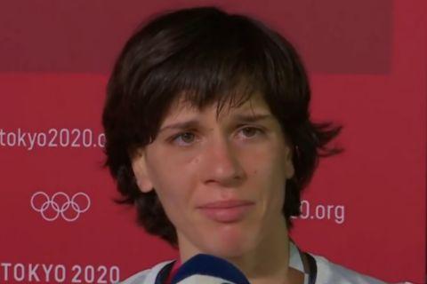Η Μαρία Πρεβολαράκη ήταν φορτισμένη ψυχολογικά μετά την ήττα της στον πρώτο γύρο της γυναικείας πάλης
