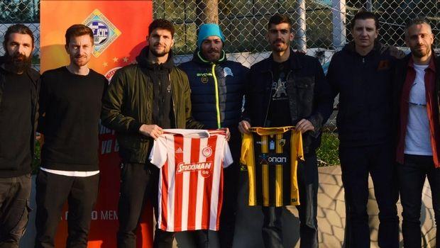Αλμπάνης και Μπουχαλάκης μαζί πριν από το ΑΕΚ - Ολυμπιακός