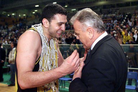 Ο Βασίλης Κικίλιας με τον Ντούσαν Ίβκοβιτς