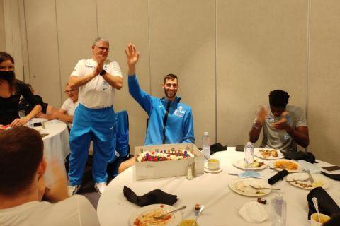 Ο Γιώργος Παπαγιάννης γιόρτασε τα γενέθλιά του