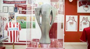 Φωτογραφικά κλικ από την παρουσία του Sport24.gr στο Μουσείο του Ολυμπιακού