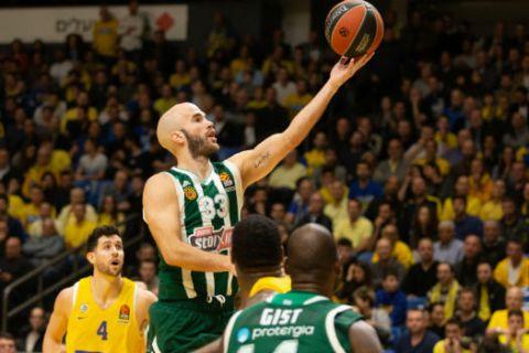 Μακάμπι - Παναθηναϊκός 84-75: Διπλή ήττα στο Τελ Αβίβ
