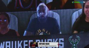 Μπακς – Χιτ: Στη virtual εξέδρα για το Game 2 ο Ντουέιν Γουέιντ