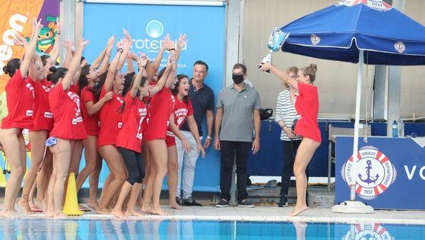 Βουλιαγμένη - Ολυμπιακός 9-11: Πρωταθλήτριες για 7η σερί χρονιά οι ερυθρόλευκες