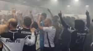 """ΠΑΟΚ: Πάρτι στα αποδυτήρια με το """"We are the Champions"""""""