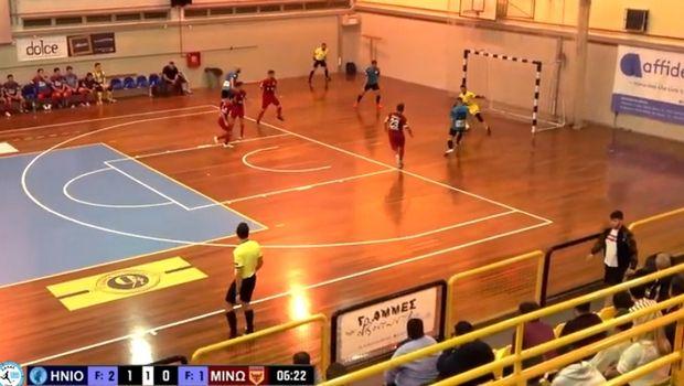 Stoiximan.gr Futsal Super League: Πανδαισία τερμάτων στη σάλα