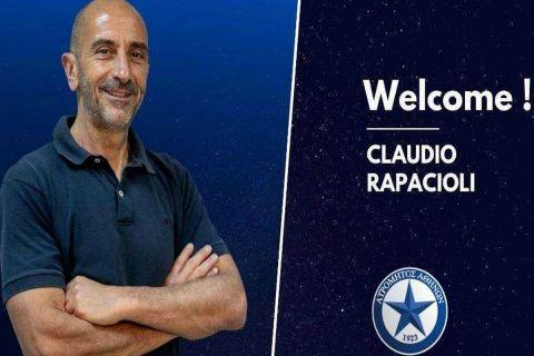 Ο Ιταλός προπονητής τερματοφυλάκων του Ατρόμητου, Κλαούντιο Ραπατσιόλι /5-6-2021