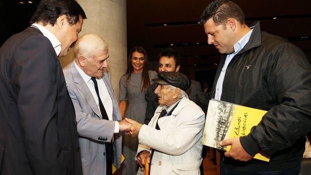 ΑΕΚ: Δάκρυσε ο Μελισσανίδης στην παρουσίαση του μουσείο προσφυγικού ελληνισμού