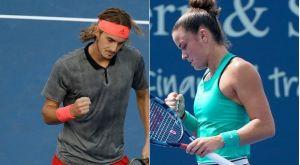 Στη μάχη του δεύτερου γύρου του US Open μπαίνουν Τσιτσιπάς και Σάκκαρη