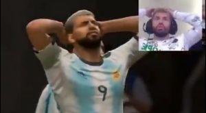 Η συγχρονισμένη αντίδραση του Αγκουέρο σε FIFA 20 και πραγματική ζωή