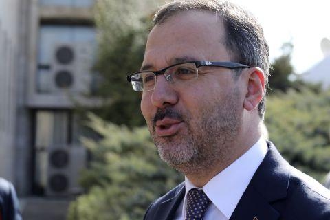 Ο Υπουργός Αθλητισμού και Νεολαίας της Τουρκίας, Μουχαρέμ Κασάπογλου