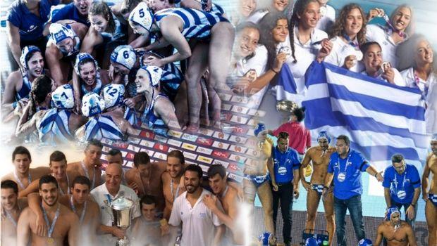 Τα επτά μετάλλια του ελληνικού πόλο το 2018