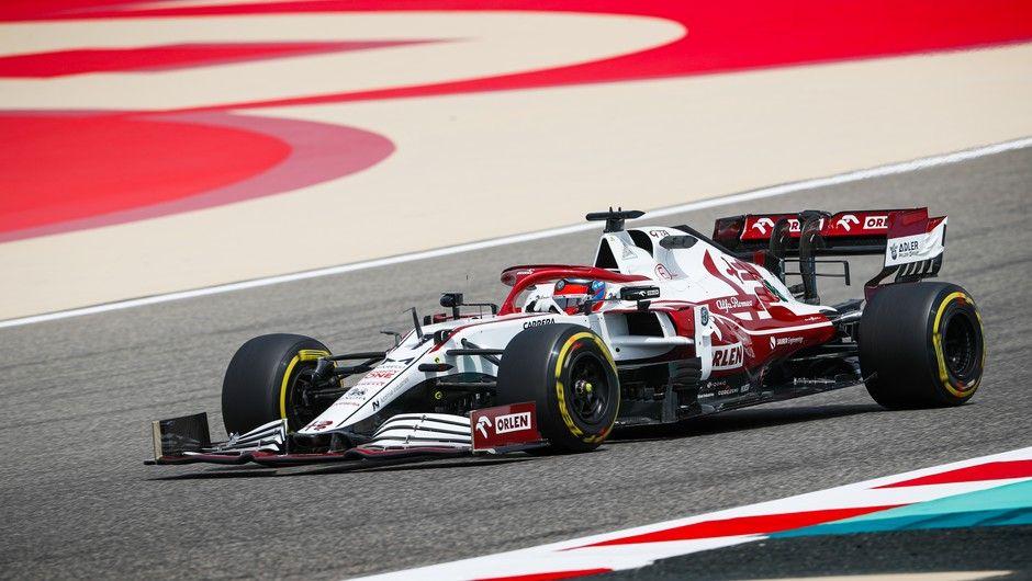 07 RAIKKONEN Kimi (fin), Alfa Romeo Racing ORLEN C41, action during the Formula 1 Pre-season testing 2020 from March 12 to 14, 2021 on the Bahrain International Circuit, in Sakhir, Bahrain - Photo Antonin Vincent / DPPI
