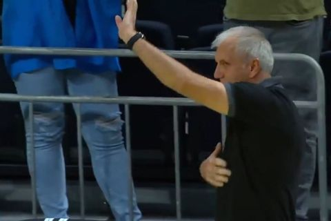 Ο Ζέλικο Ομπράντοβιτς αποθεώνεται από τους φίλους της Φενέρμπαχτσε