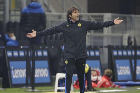 Ο Αντόνιο Κόντε ως προπονητής της Ίντερ