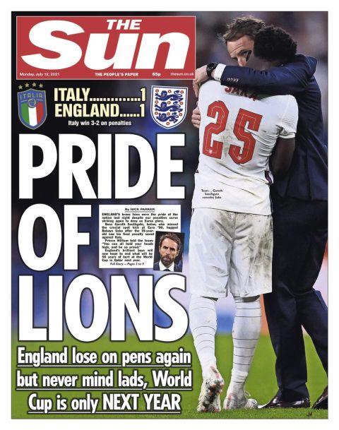 """Αγγλικός Τύπος για την ήττα στον τελικό: """"Oh no! Not again"""""""