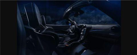 Το εσωτερικό της ανοικτής McLaren