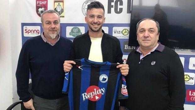 Με ψαλιδάκι μπήκε το πρώτο γκολ Έλληνα ποδοσφαιριστή στο αλβανικό πρωτάθλημα! (photo +video)