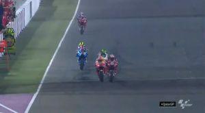 Moto GP: Η μάχη ρόδα με ρόδα του Ντοβιτσιόζο με τον Μάρκεθ