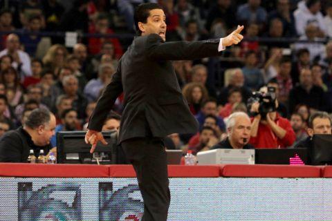 """Σφαιρόπουλος: """"Ο Ολυμπιακός είναι ένα δόρυ, ο Σπανούλης είναι η αιχμή του!"""""""