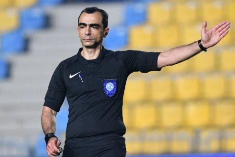 Ο Πραξιτέλης Ζαχαριάδης στην αναμέτρηση του Παναιτωλικού με την ΑΕΛ