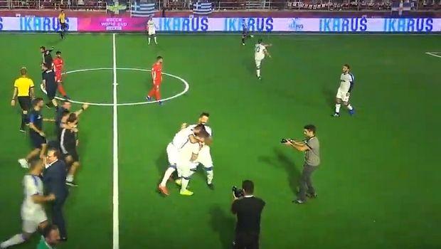 Socca World Cup: Νίκη και πρόκριση στον ημιτελικό για την Ελλάδα