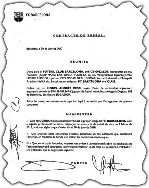 Το αληθινό συμβόλαιο του Μέσι: 104.441.346 ευρώ ετησίως