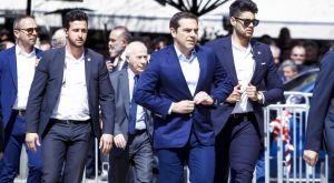 Θανάσης Γιαννακόπουλος: Ο πρωθυπουργός Αλέξης Τσίπρας στη Μητρόπολη για την κηδεία