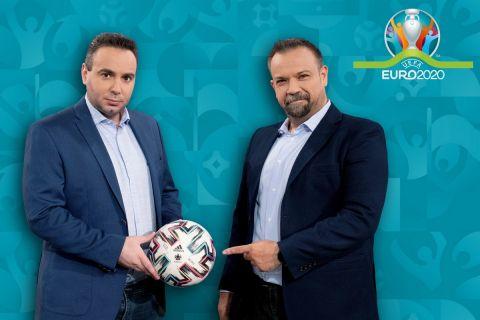 Οι παρουσιαστές της εκπομπής euroday στον ΑΝΤ1