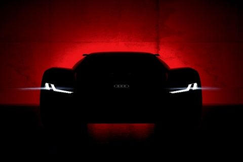 Will be unveiled in Pebble Beach on August 23, 2018  the Audi PB 18 e-tron show car.