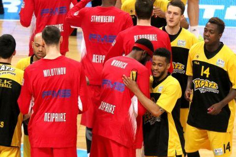 ΑΕΚ - Ολυμπιακός: Η κριτική των παικτών